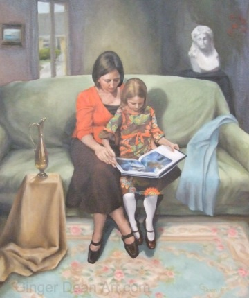 """Reading With My Child"" by Ginger Dean"