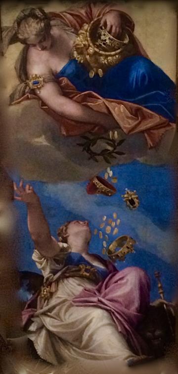 Venetian Mural of Mercy